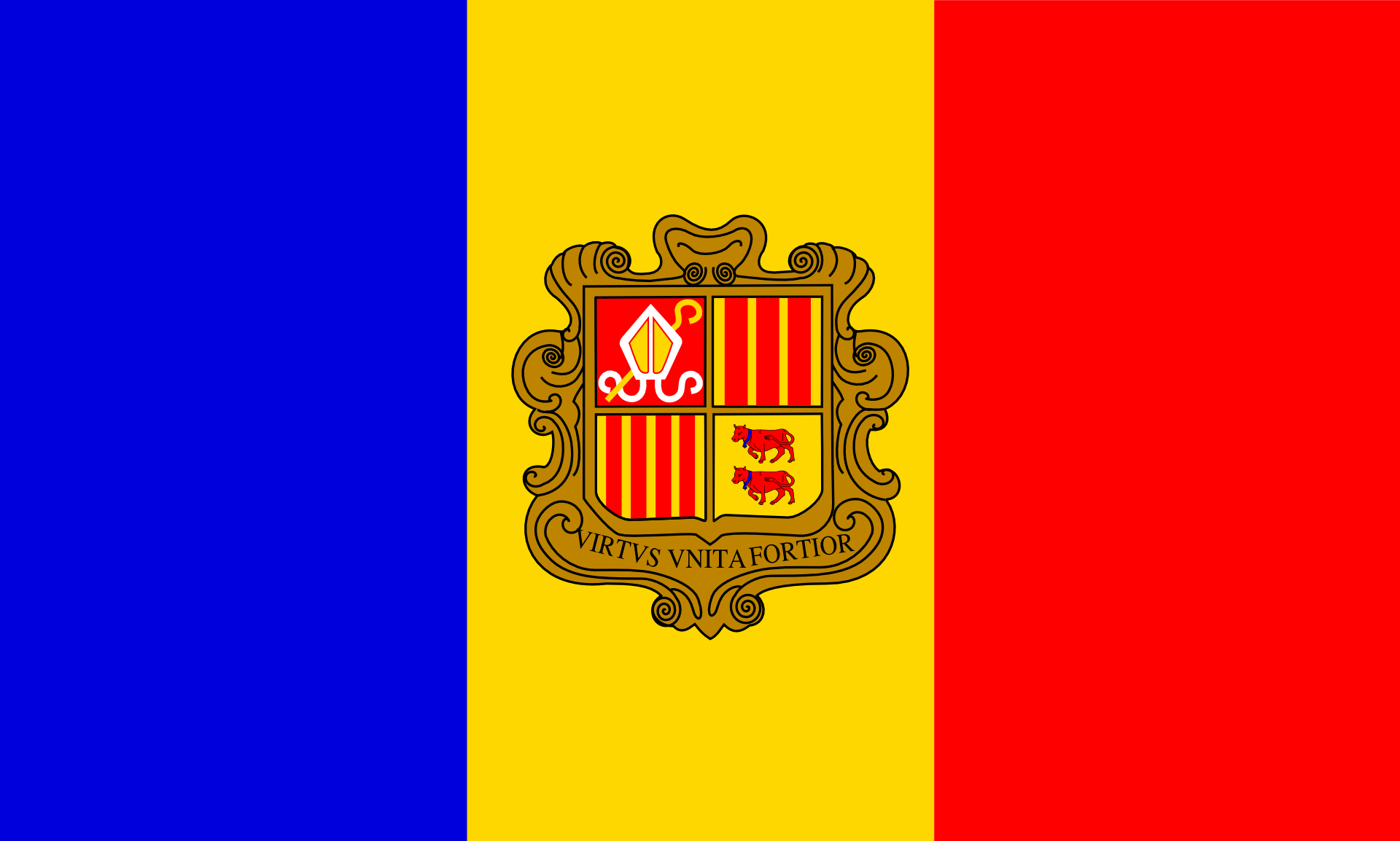 Andorra Poster Prints Flags Of The World Poster Size Prints