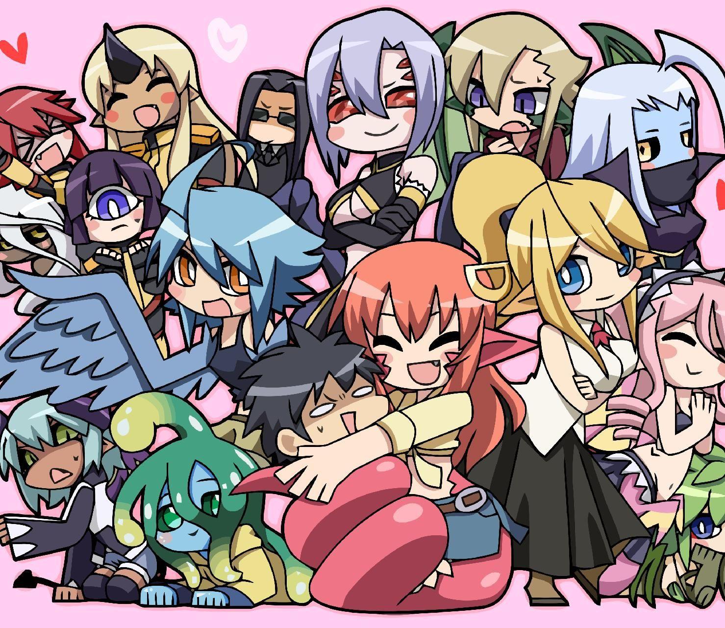 Download Monster Musume Chibi Wallpaper By Strifeexcalibu 7f