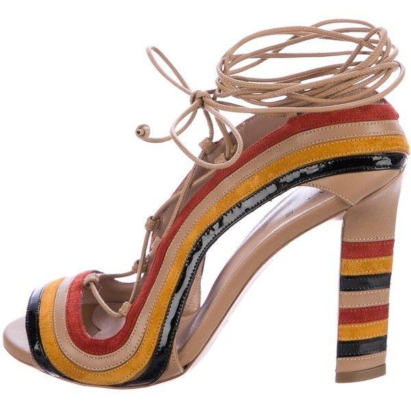 Pre-owned - Multicolour Leather Heels Paula Cademartori dhEUUSoIPw