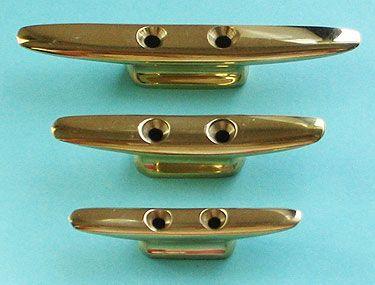 """Brass Boat Fender Cleats 1 5//8/"""""""