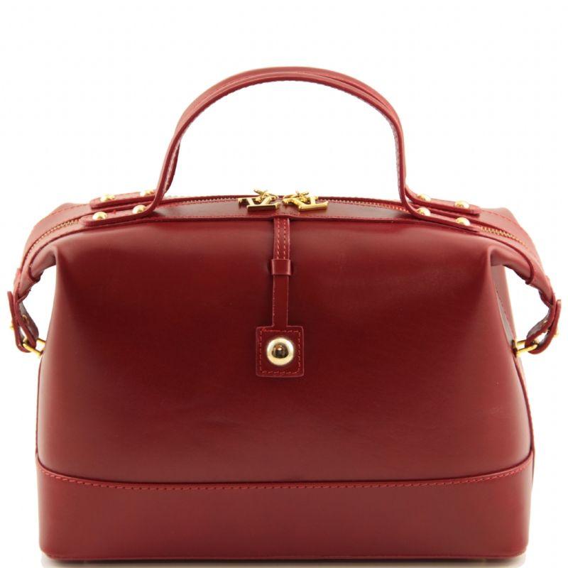 Tuscany Leather,TL Bauletto,borse donna,a mano e tracolla ,con manici.