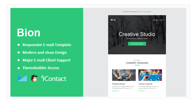Beautiful Mailchimp Email Templates Beautiful Mailchimp Email - Web design email marketing templates