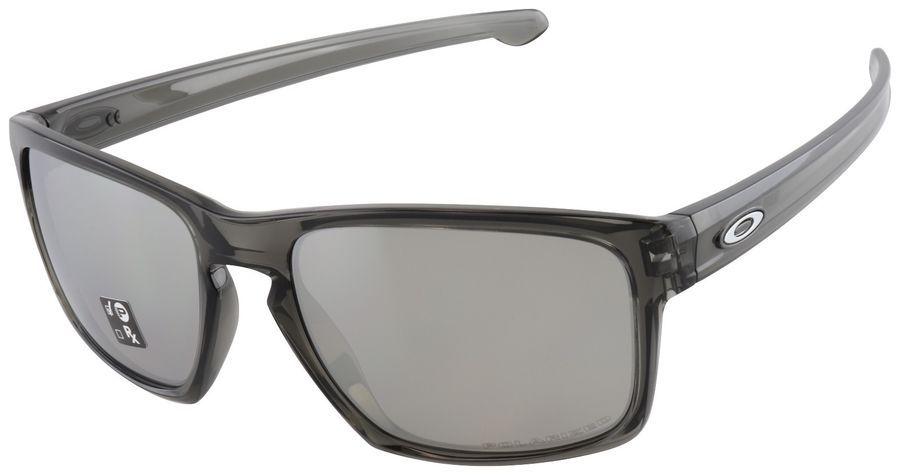 913d151fc25 Oakley Sliver Sunglasses OO9262-13 Grey Smoke Chrome Iridium Polarized  Lenses Sunglasses Oakley Sliver