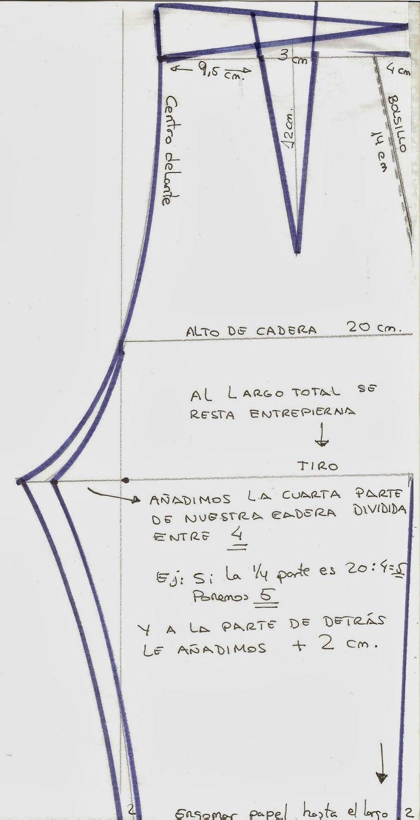 Patrón pantalón de señora | moda y confección | Pinterest | Señor ...