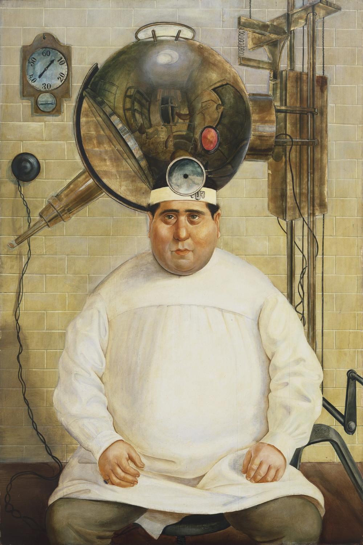 Otto Dix. Dr. Mayer-Hermann. Berlin 1926 | MoMA | Arte, Pinturas ...