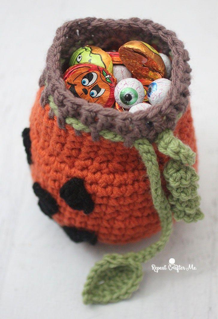 pumpkinpouch4 | pumpkin baskets | Pinterest