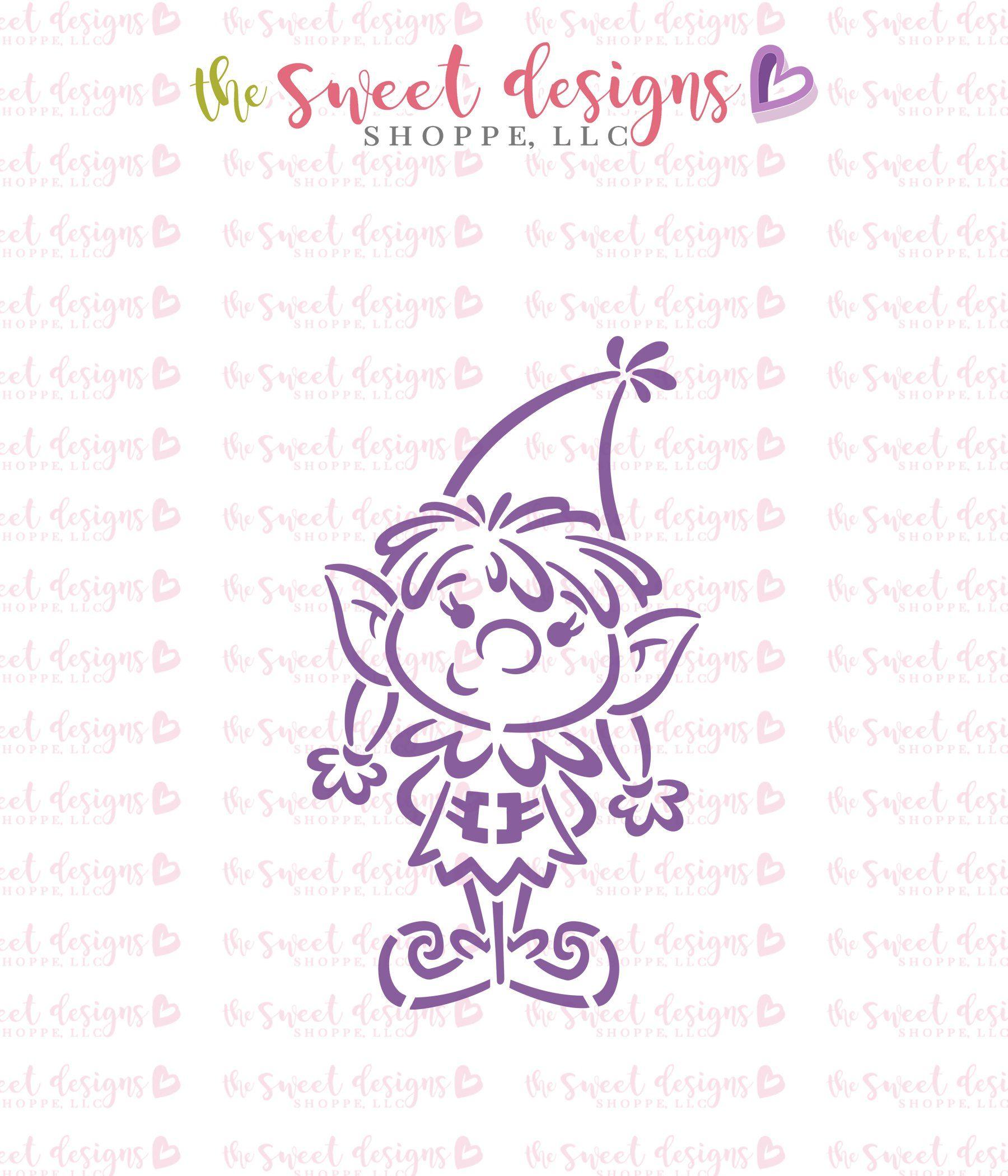 Elf Girl Pyoc Stencil