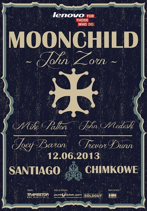 Moonchild - 12 de junio - Centro de Eventos Chimkowe