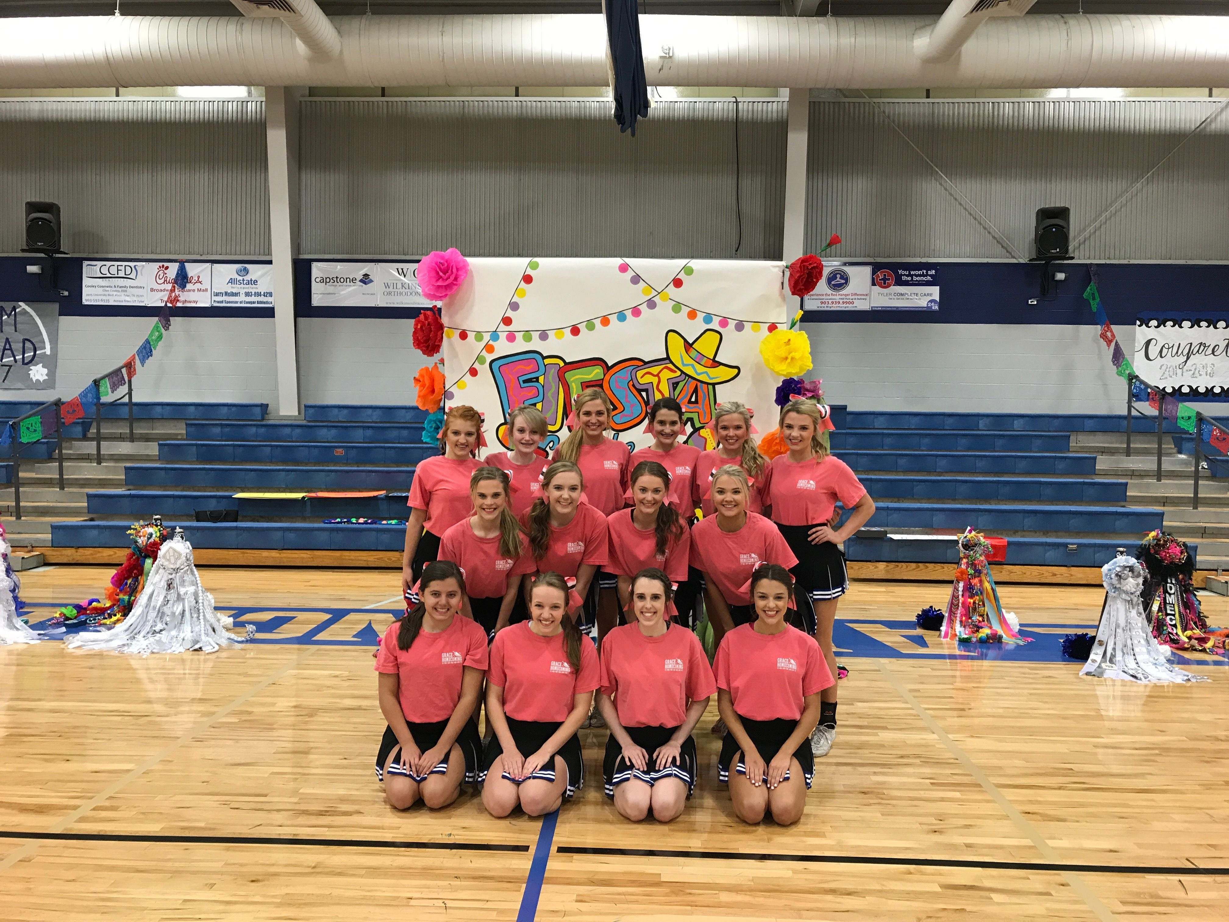 Fiesta Themed Pep Rally 10 6 17 Cheer Team Picture Cheer Team Pictures Team Pictures Cheer Team