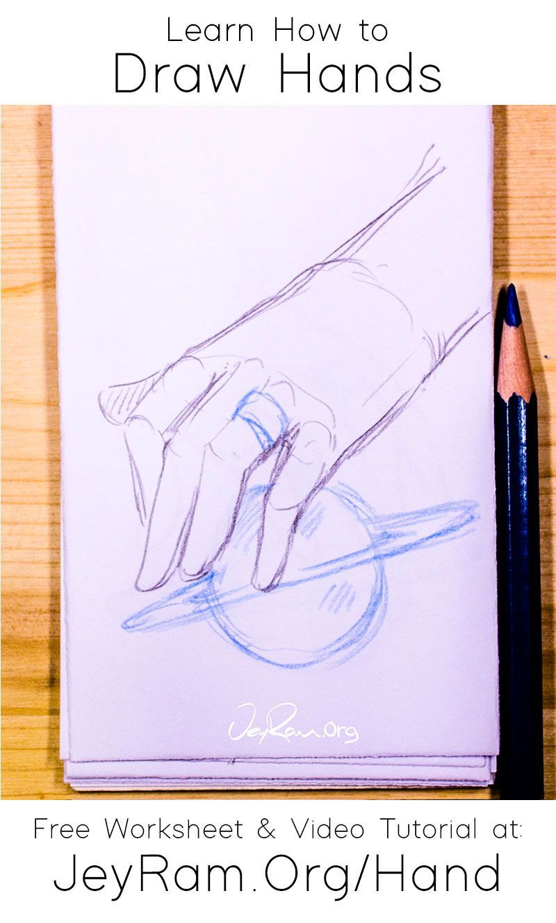 How To Draw Hands For Beginners In 2020 How To Draw Hands Learn To Draw Free Hand Drawing