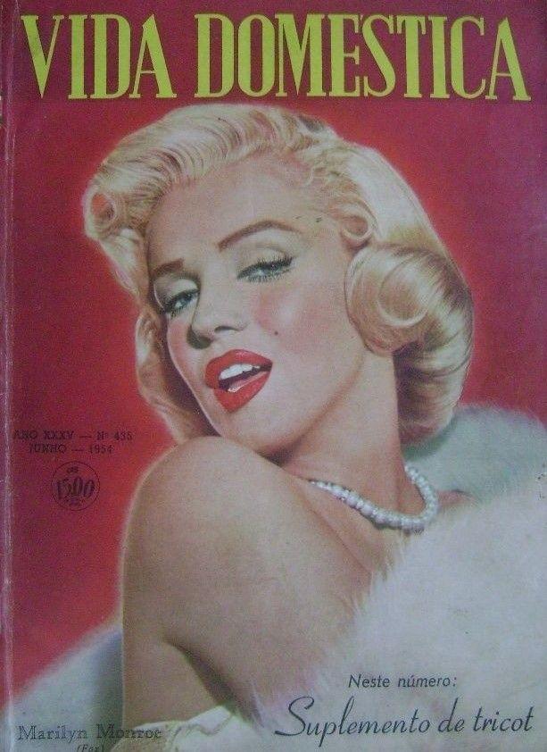 Vida Domestica June 1954 Magazine From Brazil Front Cover