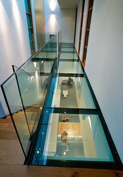 Bright Ideas 15 Ways To Introduce Light From Above Glass Floor