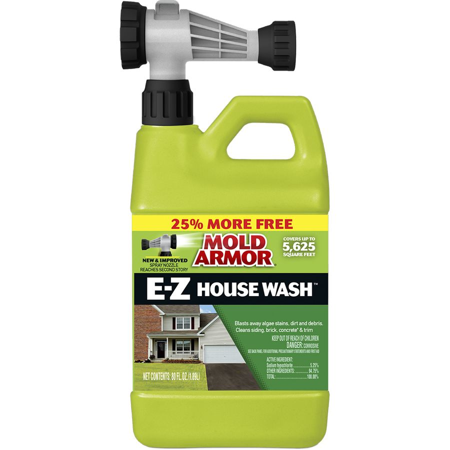 Home Armor 80 Fl Oz Deck Cleaner At Lowes Com House Wash Mold And Mildew Deck Cleaner