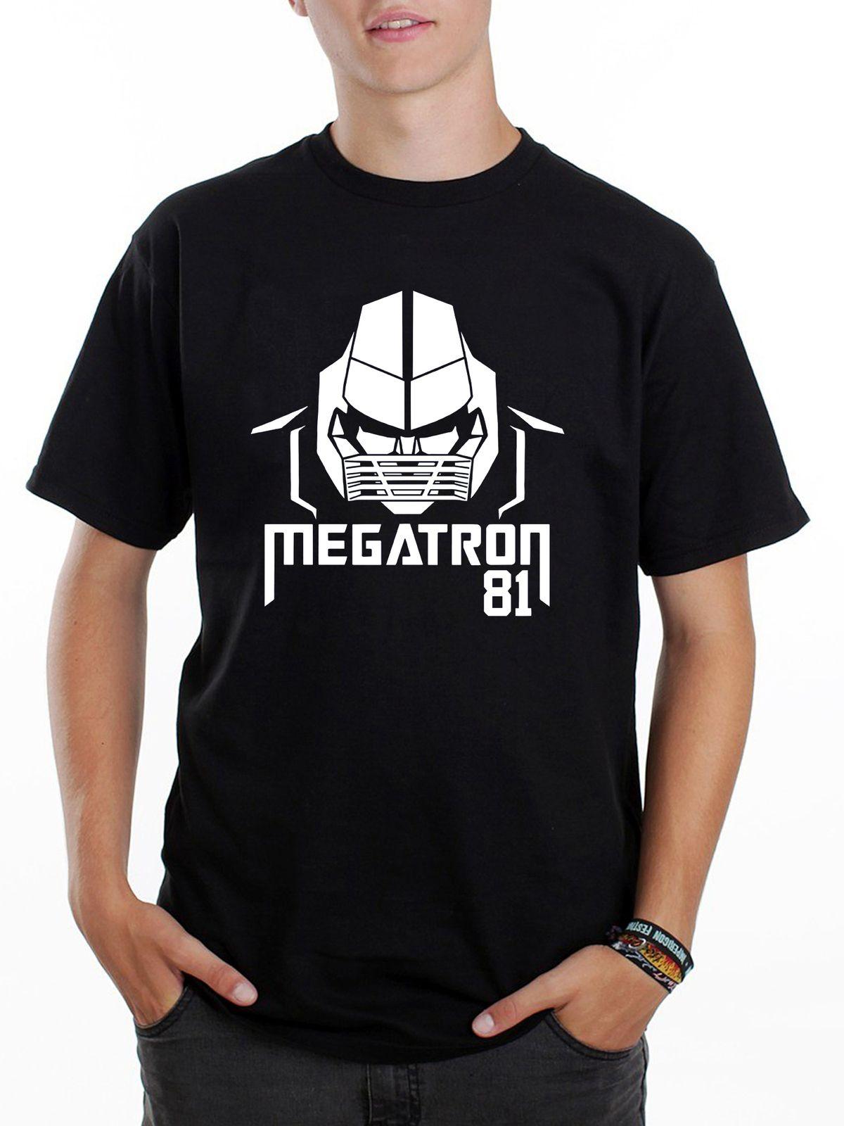da41d8b0bb4 Men s T-Shirt Megatron Calvin Johnson Lions Nfl 364 Black T-Shirt ...