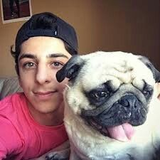 Faze Rug And Bosley Faze Clan ️ Dogs Rugs Celebrity Cars