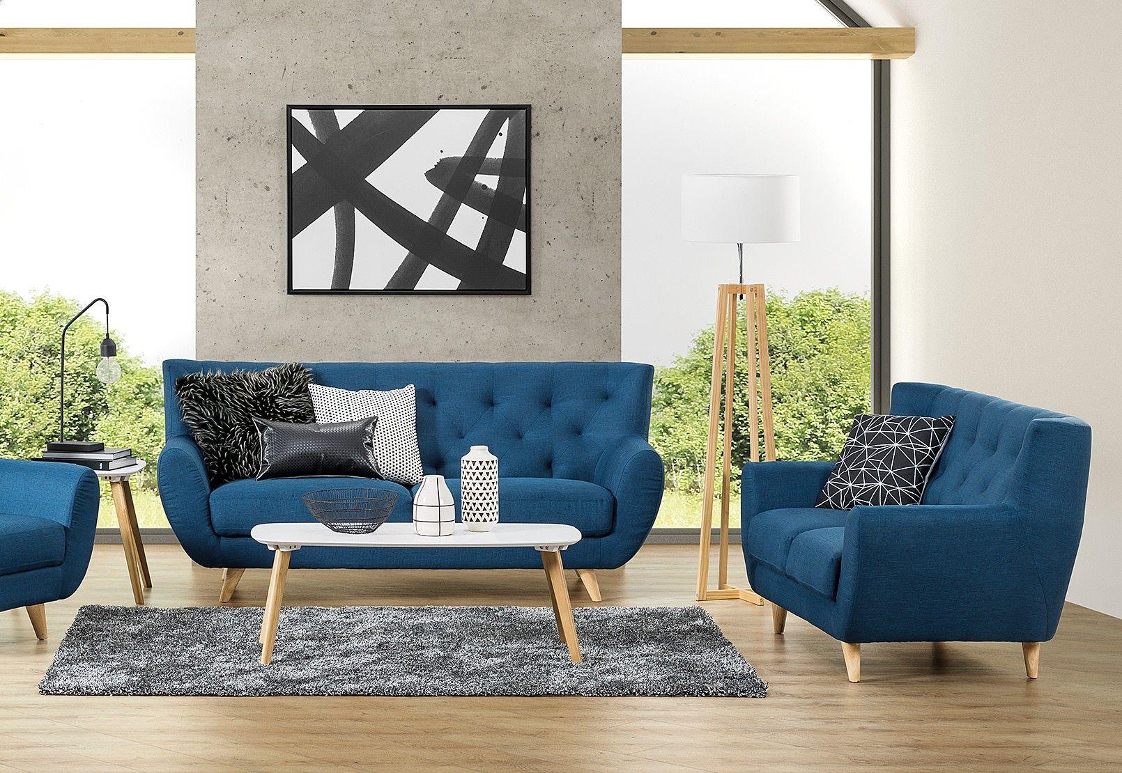 Juniper Fabric Sofa Pair Super A Mart
