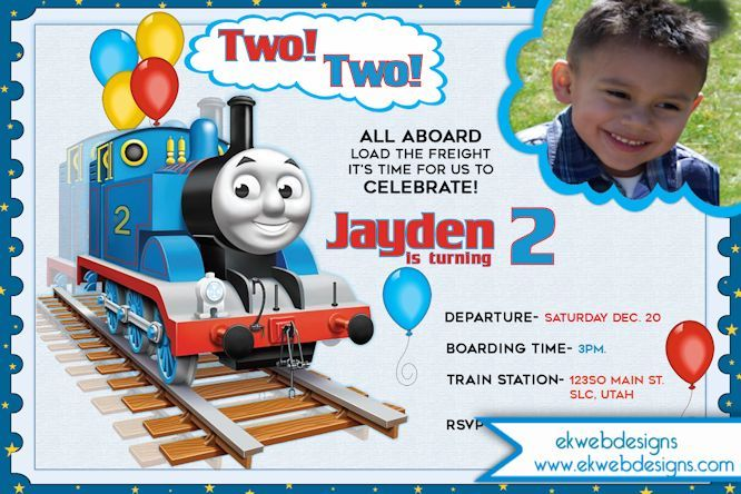 Thomas the train choo choo birthday invitation two two invitation thomas the train choo choo birthday invitation two two invitation thomas the train pinterest birthdays and thomas birthday filmwisefo