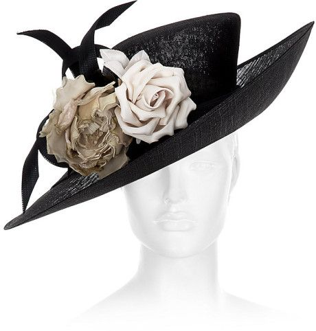 Love this  Upturned Buntal Bow Hat for HARRODS English designer PHILIP  TREACY af5a5e5a3979