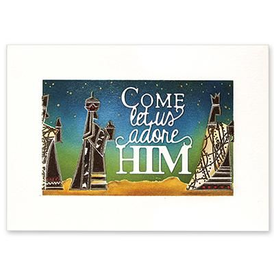 """Penny Black - THREE KINGS- Clear Stamps Set """"T for Tranparent"""" clear stamp setsize:5""""x6.5"""""""