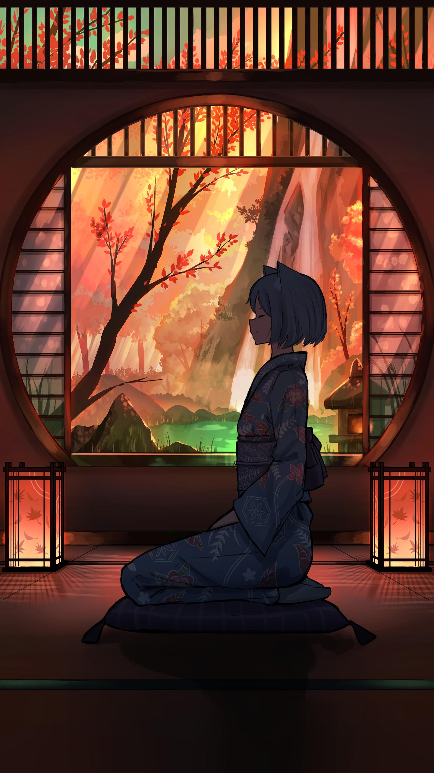2020 Original 1440x2560 Anime Scenery Anime Art Beautiful Cool Anime Wallpapers