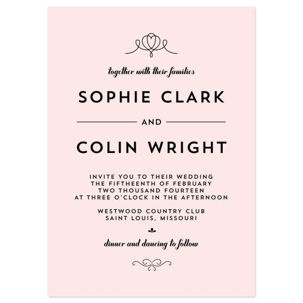 classic penmanship wedding invitations wedding stationary