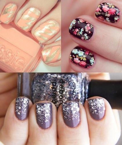 New Nail Designs 2014 Fashion Trendy Most Popular Nail Designs