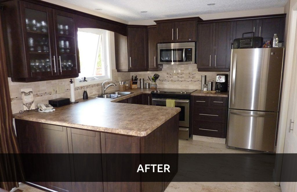 Cabinet refacing can help sell your home
