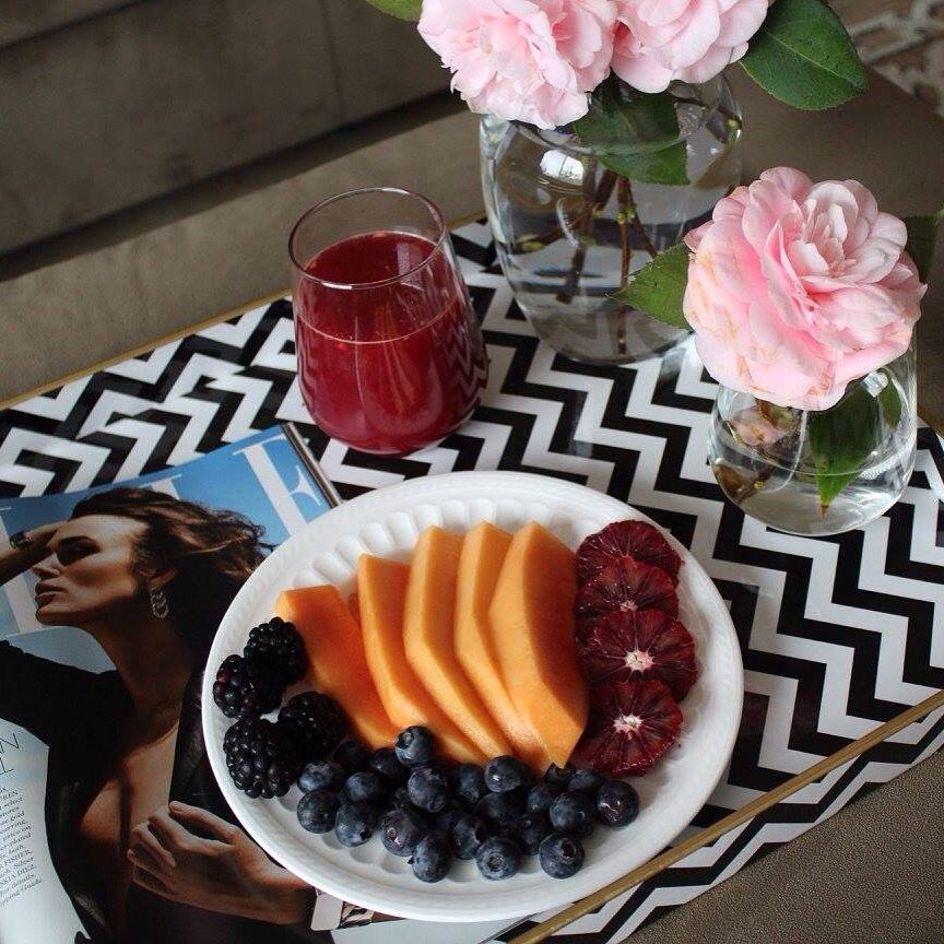 Blood Orange juice and fruit !!!!