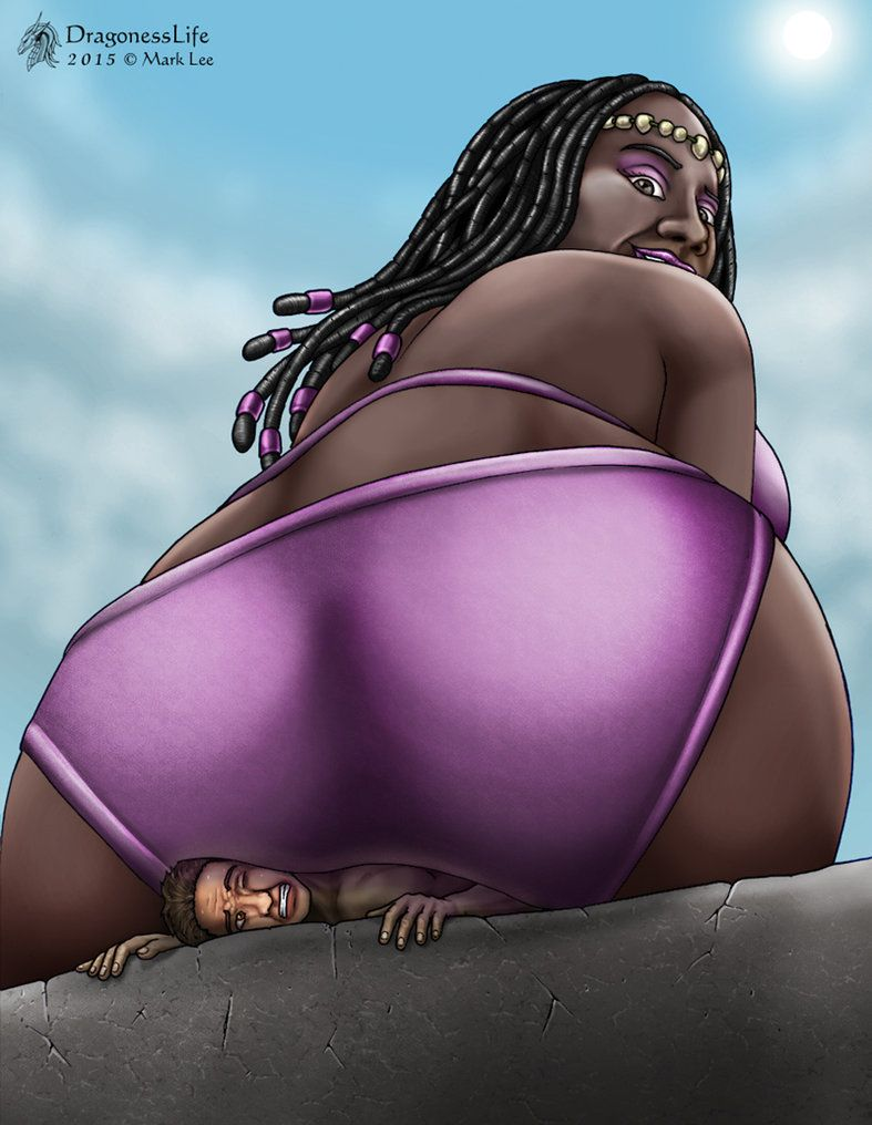 Really. happens. ebony giantess vore does plan?
