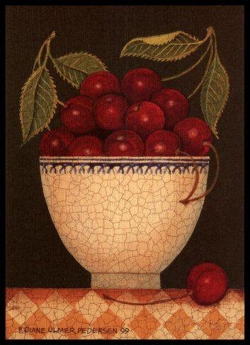 Cup of Cherries (Diane Pedersen)