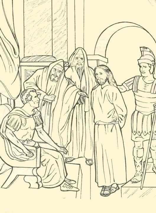 Via Crucis Niños   De Cuaresma a Pascua   Arte cristiano, Dibujos y Vías