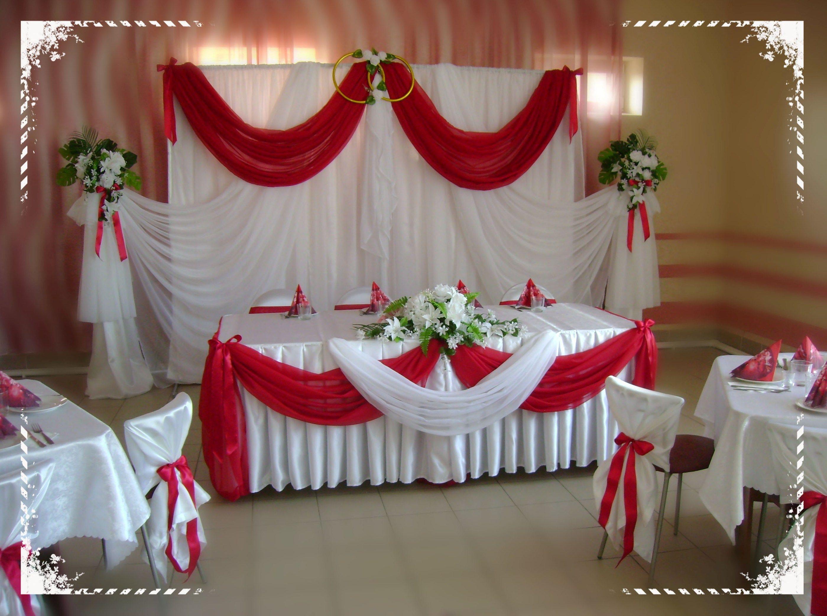 Wedding decorations backdrop  место молодых  mesas principales  Pinterest  Backdrops