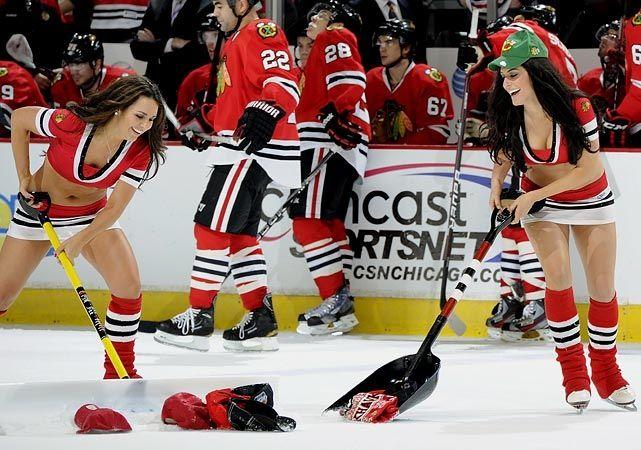 Blackhawks Ice Girls Ice Hockey Girls Hockey Girls