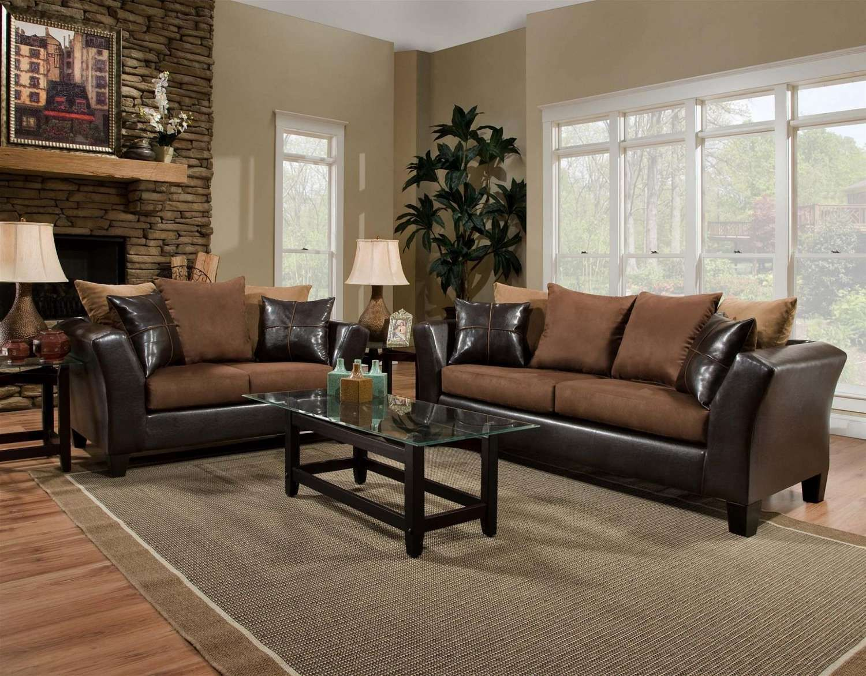 Dual Fabric Sofa, just $298! FFO Home