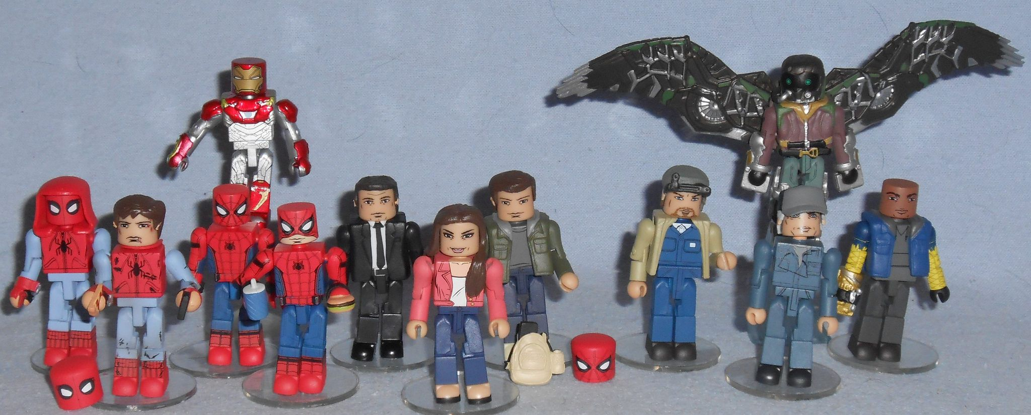 Marvel Minimates Tru Toys R us Spider-Man Homecoming Film Happy Hogan