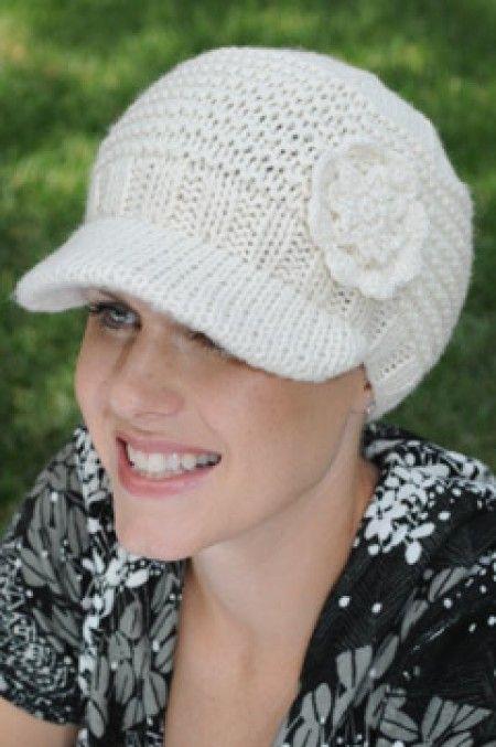 Stephanie Cap | Fall & Winter Knitted Newsboy Hat for Women ...