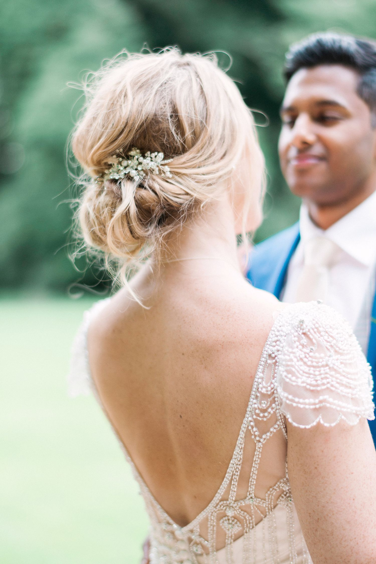 Real Wedding An Elegant Day At Holkham Hall With A Maggie Sottero
