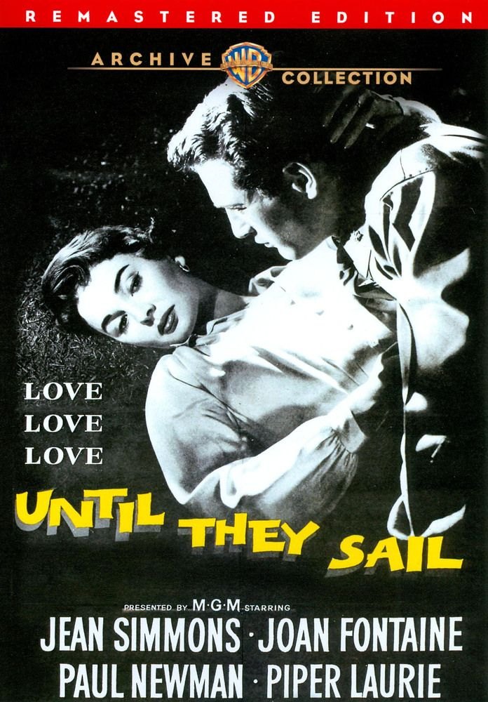 Until they sail Paul Newman vintage movie poster print