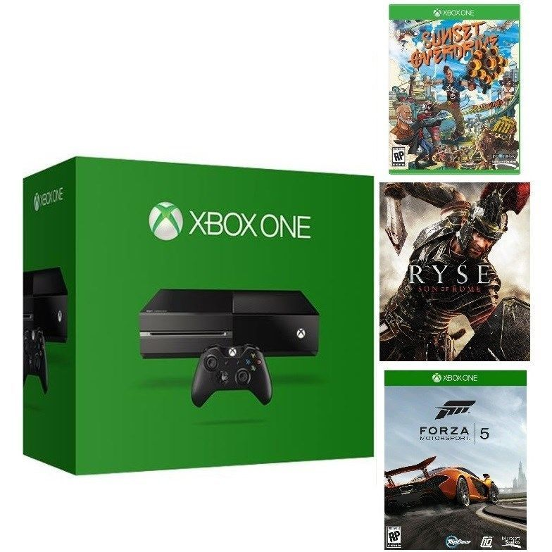 Microsoft Certified Xbox One 500GB Gaming Console - 3 GAME