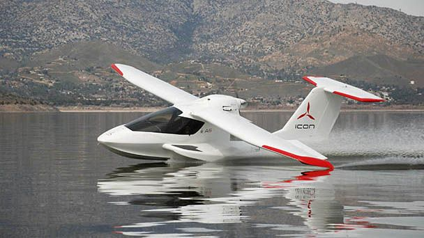 ICON A5 amphibious sportsplane