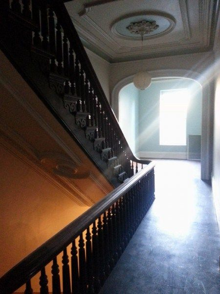 Best Hall And Stairs At Half Moon Hall In Troy Hallfmoonhall 400 x 300
