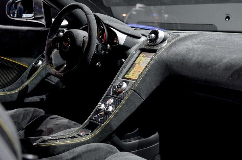 Beautiful Interior 2015 McLaren 650S Spider