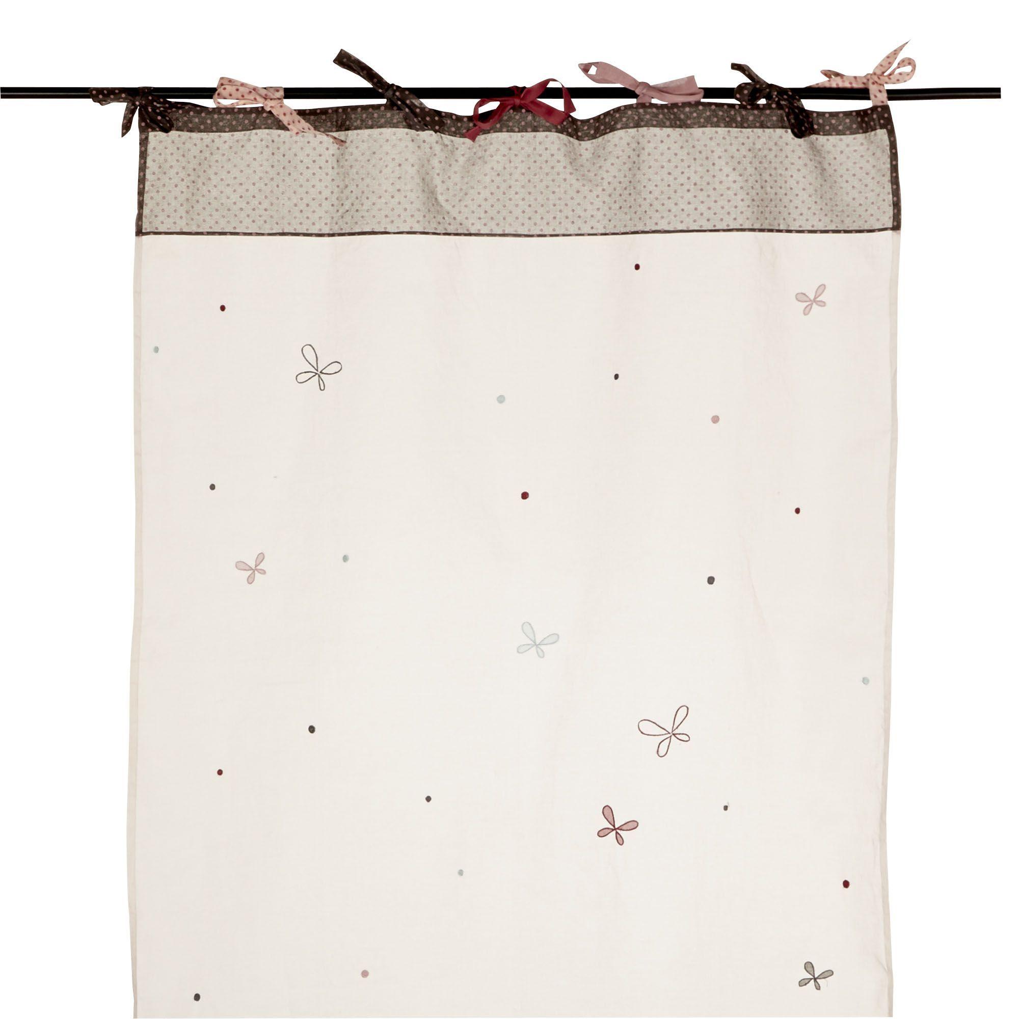 Voilage pour chambre de b b rose gris jolie souris les rideaux et voilages les tapis - Voilage pour chambre ...