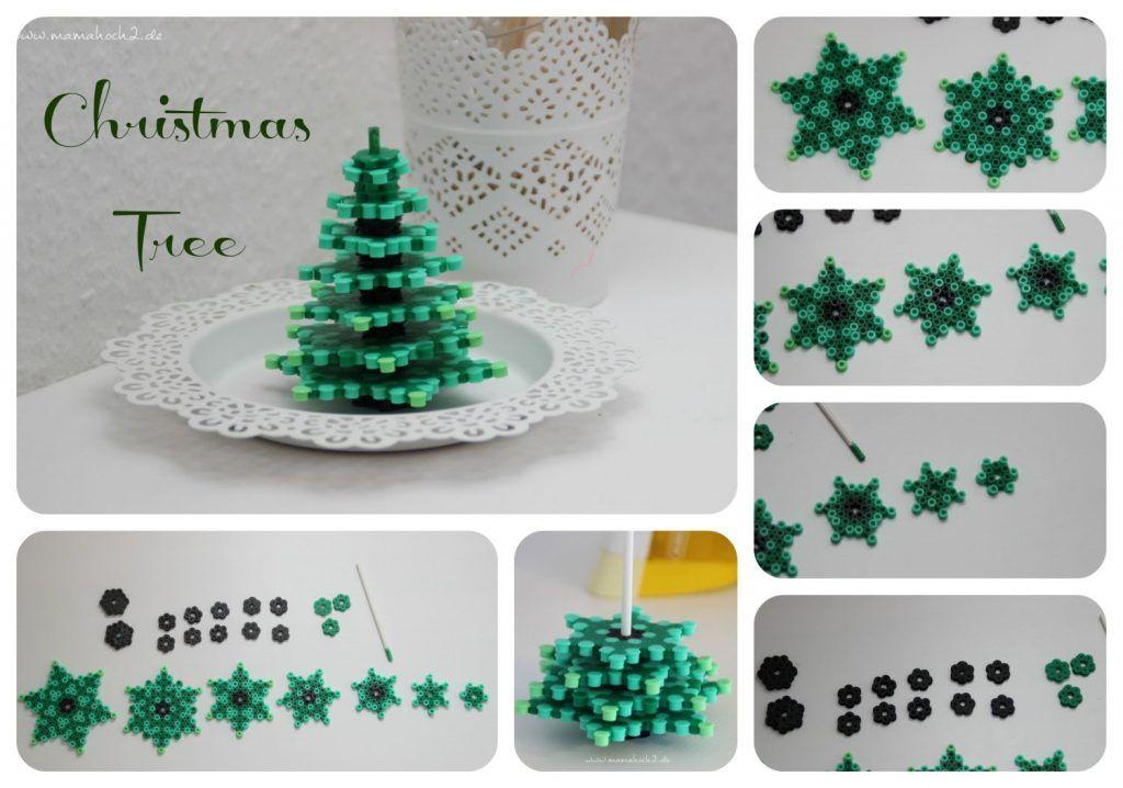 weihnachtsbaum tannenbaum aus buegelperlen diy b gelperlen pinterest weihnachtsb ume. Black Bedroom Furniture Sets. Home Design Ideas