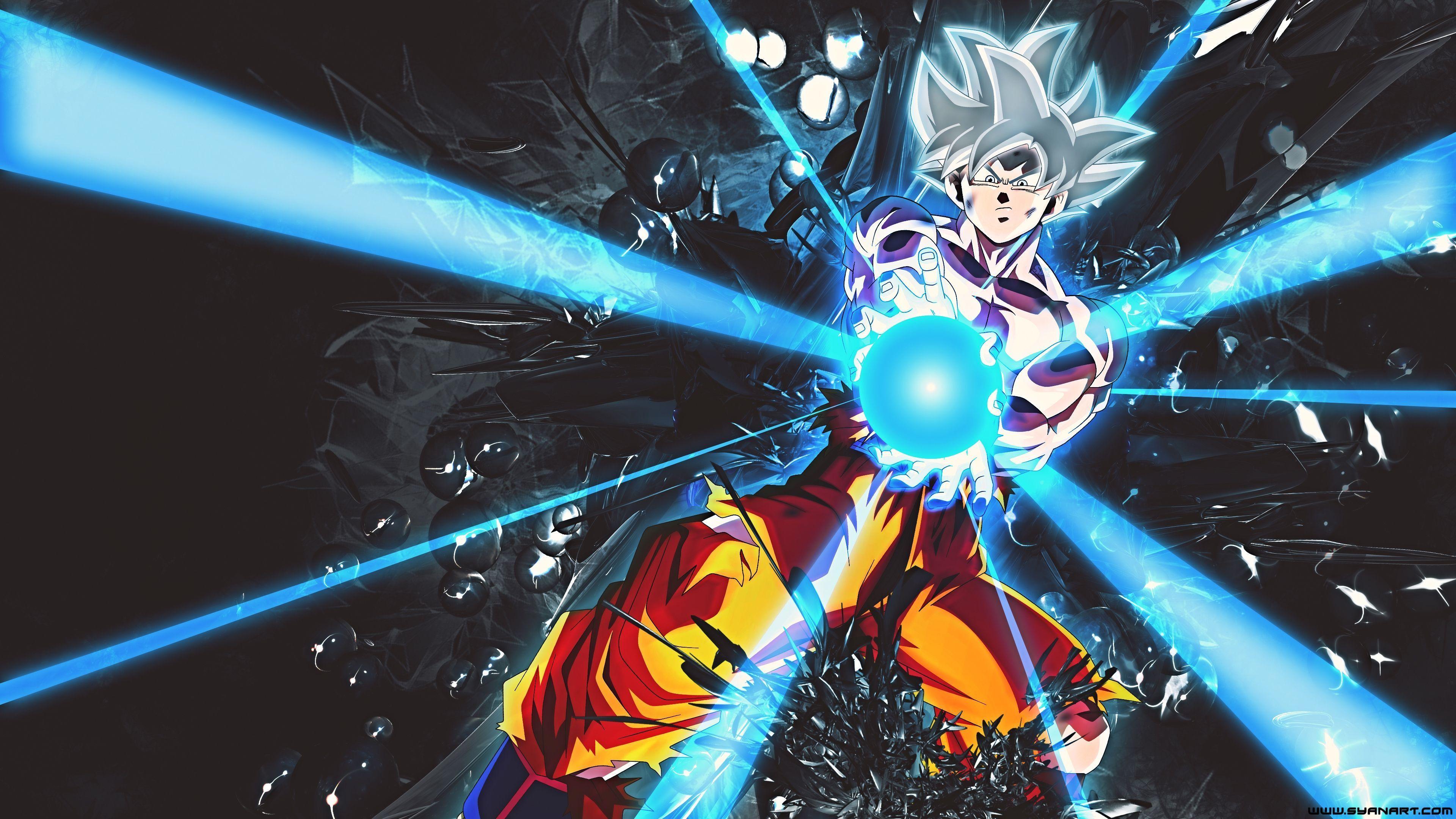 Wallpaper Ultra Instinct Goku Dragon Ball Super 4k Anime 12394anime Ultra Instin 4k Dragon Ball Art Dragon