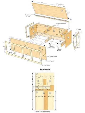 How to Build a Window Seat - Adding Extra Storage Space - Built-ins,