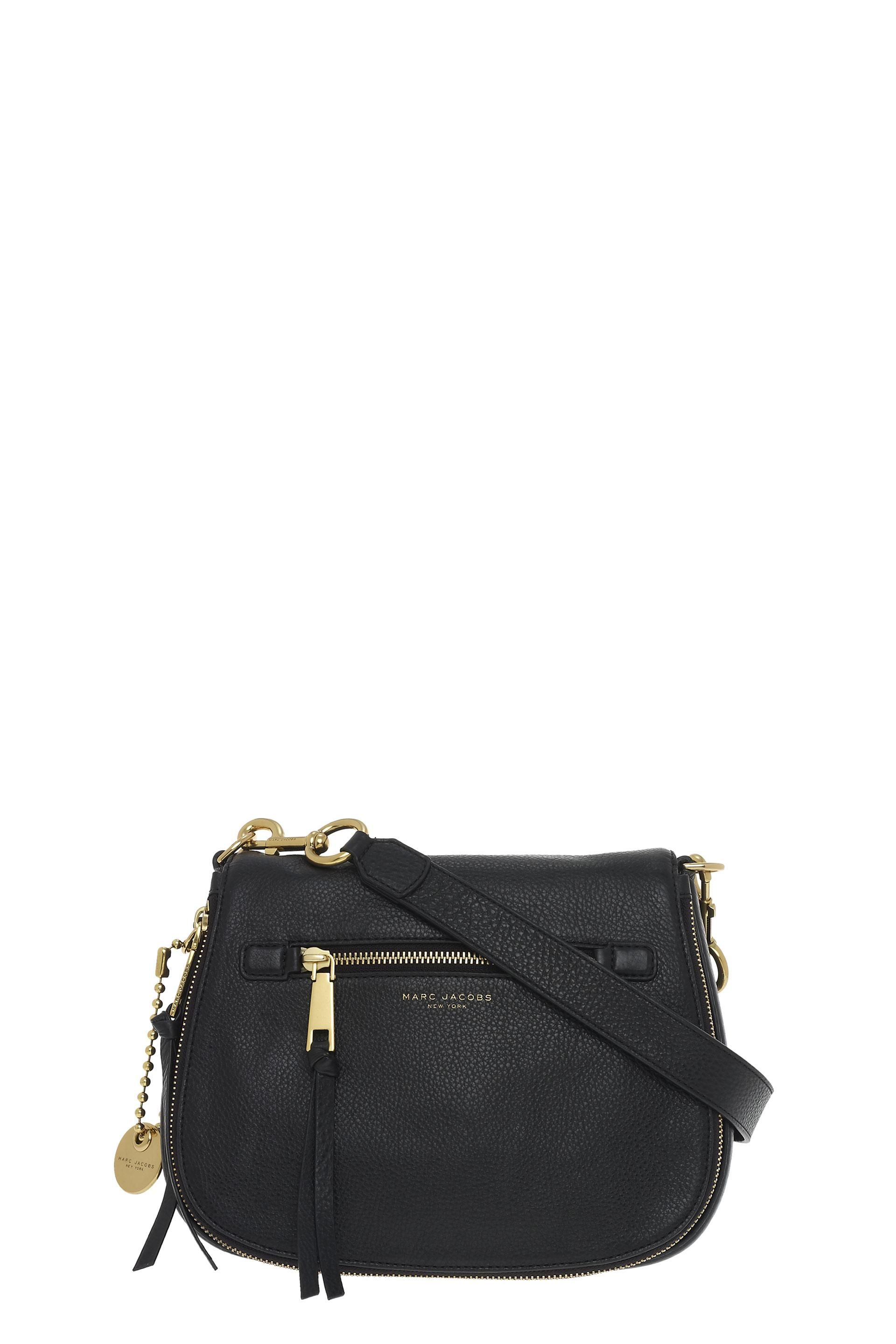 MARC JACOBS Recruit Saddle Bag.  marcjacobs  bags  shoulder bags  leather   polyester  crossbody  lining cc7e634bcd5e