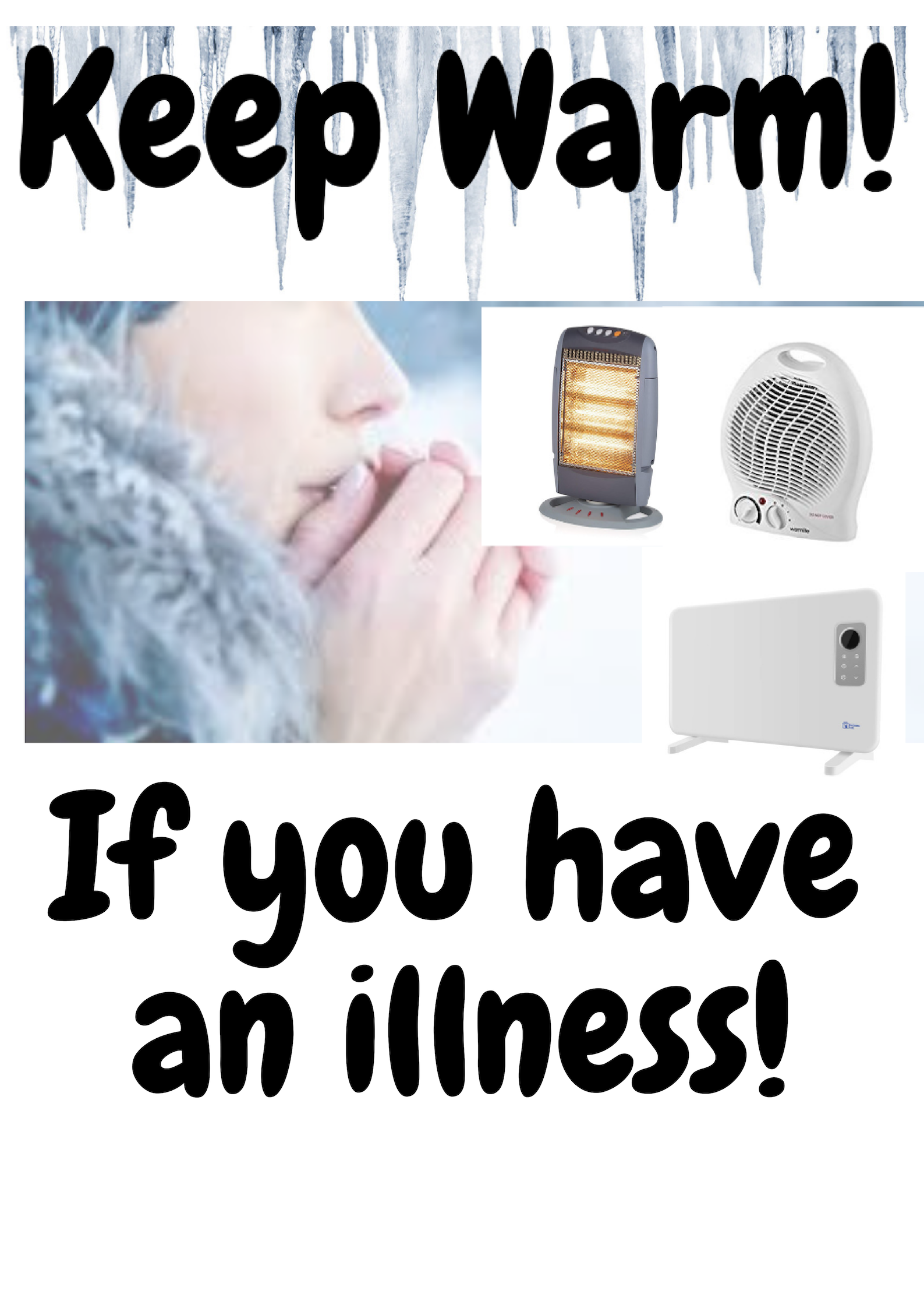 Stay Warm If You have An Illness Oil filled radiator