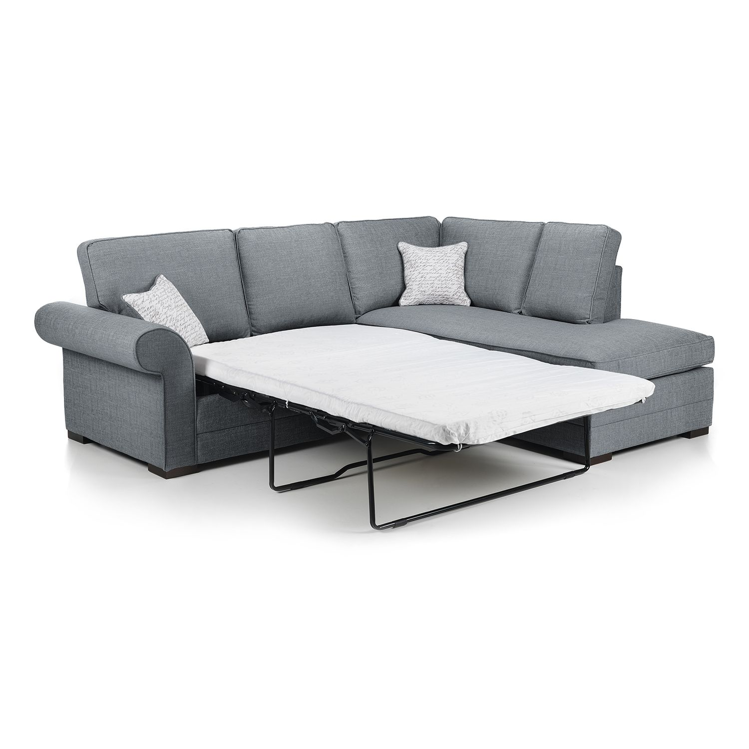 Logan Fabric Corner Sofabed Next Day Delivery Logan Fabric Corner Sofabed With Images Corner Sofa Bed Elegant Sofa Sofa Bed