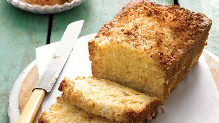 Coconutpineapple loaf cake recipe yummly recipe
